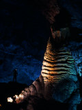 Massive Limestone Column Called the Rock of Ages, Carlsbad Caverns National Park, New Mexico Photographic Print by Michael Nichols