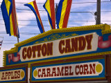 Close-Up of Concession Sign at a Carnival, New London, Connecticut, USA Photographic Print by Todd Gipstein