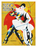 Nuevo Mundo, Magazine Cover, Spain, 1927 - Giclee Baskı