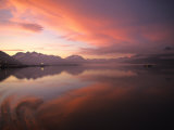 Sunrise in Valdez, Alaska Photographic Print by Michael S. Quinton
