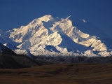 Snow-Covered Mountains, Denali National Park, Alaska Photographic Print by Nick Norman