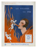 La Marque de Feu, Magazine Advertisement, France, 1910 Art