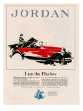 Jordan, Magazine Advertisement, USA, 1926 Art