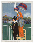 La Vie Parisienne, Magazine Plate, France, 1920 Prints