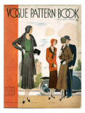 Vogue Pattern Book Cover, UK, 1930 Giclee Print