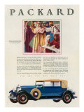 Packard, Magazine Advertisement, USA, 1929 Prints
