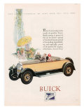 Buick, Magazine Advertisement, USA, 1927 Giclee Print