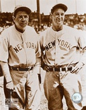 Babe Ruth and Lou Gehrig - &#169;Photofile Prints