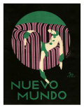 Nuevo Mundo, Magazine Cover, Spain, 1920 Prints
