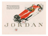 Jordan, Magazine Advertisement, USA, 1925 Giclee Print
