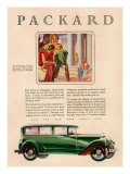 Packard, Magazine Advertisement, USA, 1929 Giclee Print