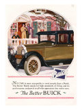 Buick, Magazine Advertisement, USA, 1925 Print