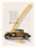Buick, Magazine Advertisement, USA, 1928 Giclee Print