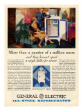 General Electric, Magazine Advertisement, USA, 1920 Giclee Print
