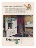 Frigidaire, Magazine Advertisement, USA, 1926 Giclee Print