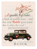 Buick, Magazine Advertisement, USA, 1928 Print