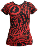 Women's: Ac/dc - Girls Got Rhythm Remera