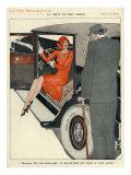 La Vie Parisienne, Magazine Advertisement, France, 1920 Prints