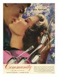 Community Cutlery, Magazine Advertisement, USA, 1951 Giclee Print