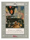 Cadillac, USA, 1920 Giclee Print