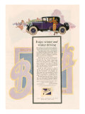 Buick, Magazine Advertisement, USA, 1925 Posters