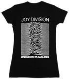 Women's: Joy Division - Unknown Pleasures Remera