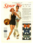 Spur Tie, Magazine Advertisement, USA, 1929 Giclee Print