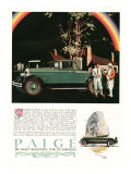 Paige, Magazine Advertisement, USA, 1927 Posters