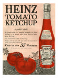 Heinz, Magazine Advertisement, USA, 1910 - Giclee Baskı