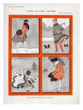 La Vie Parisienne, Magazine Plate, France, 1916 Prints