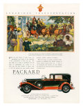 Packard, Magazine Advertisement, USA, 1930 Giclee Print