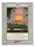 Oldsmobile, Magazine Advertisement, USA, 1920 Poster
