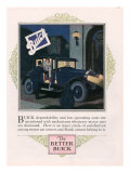 Buick, Magazine Advertisement, USA, 1926 Poster