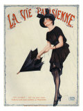 La Vie Parisienne, Magazine Cover, France, 1919 Prints