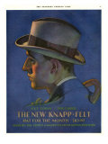 Knapp-Felt, Magazine Advertisement, USA, 1920 Giclee Print
