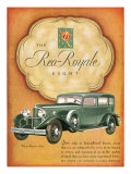 Reo Royale, Magazine Advertisement, USA, 1931 Art