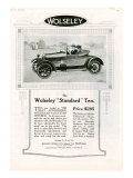 Wolseley, Magazine Advertisement, USA, 1923 Photo