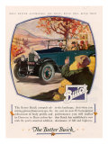 Buick, Magazine Advertisement, USA, 1925 Giclee Print