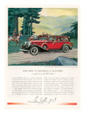Cadillac La Salle, Magazine Advertisement, USA, 1933 Posters