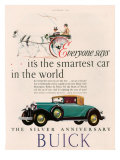Buick, Magazine Advertisement, USA, 1928 Posters