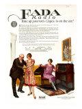 Fada Radio, Magazine Advertisement, USA, 1920 Prints