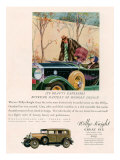 Willys Knight, Magazine Advertisement, USA, 1920 Posters
