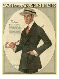 Kuppenheimer, Magazine Advertisement, USA, 1910 Prints