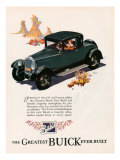 Buick, Magazine Advertisement, USA, 1926 Prints