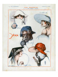 La Vie Parisienne, Magazine Plate, France, 1922 Prints