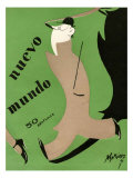 Nuevo Mundo, Magazine Cover, Spain, 1927 Posters