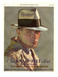 Knapp-Felt, Magazine Advertisement, USA, 1930 Giclee Print