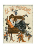 La Vie Parisienne, Magazine Cover, France, 1920 Prints