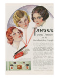 Tangee, Magazine Advertisement, UK, 1930 Giclee Print
