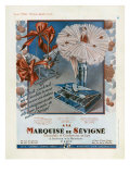 Marquise de Sevigne, Magazine Advertisement, France, 1929 Posters